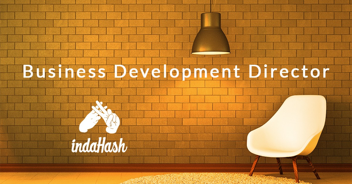 Business Development Director indaHash